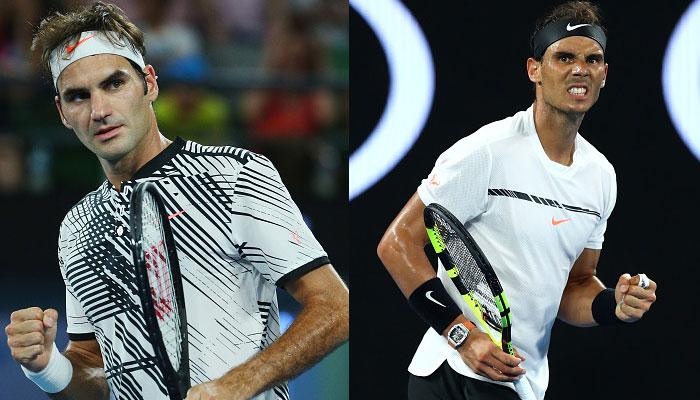 Federer vs Nadal Australian Open 2018